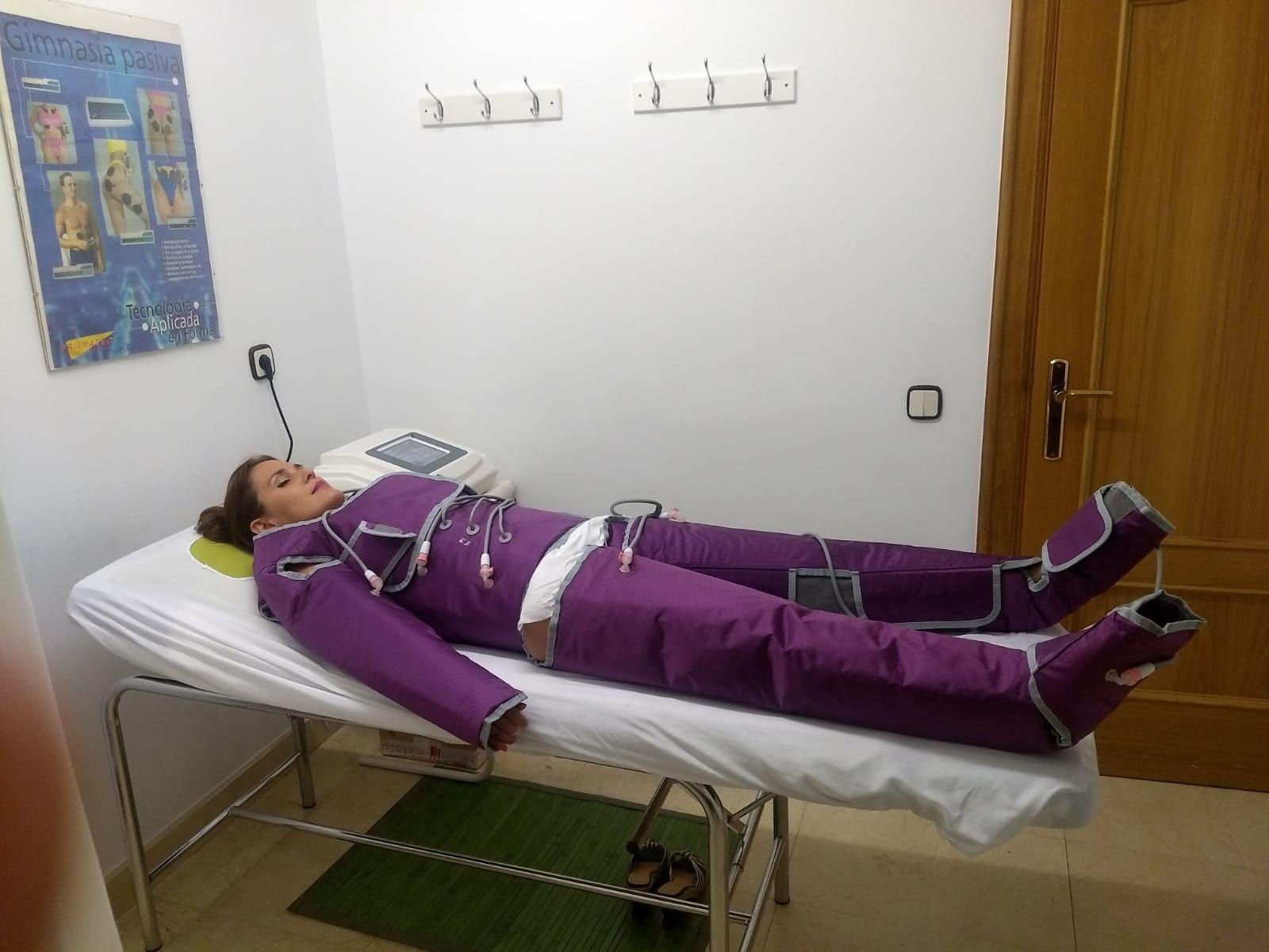 Presoterapia en Logroño