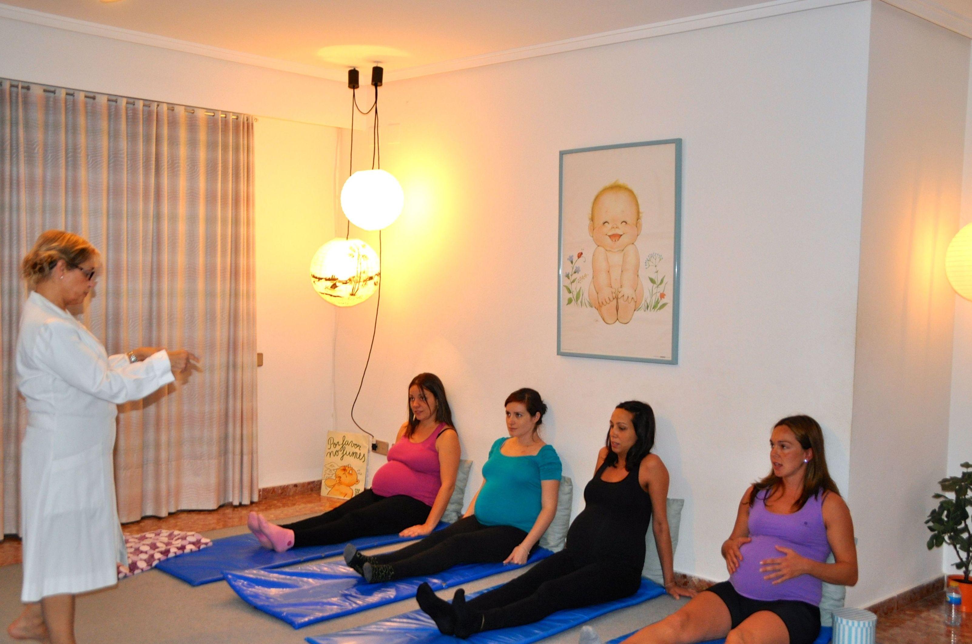 Génesis, ejercicios respiratorios de preparación al parto