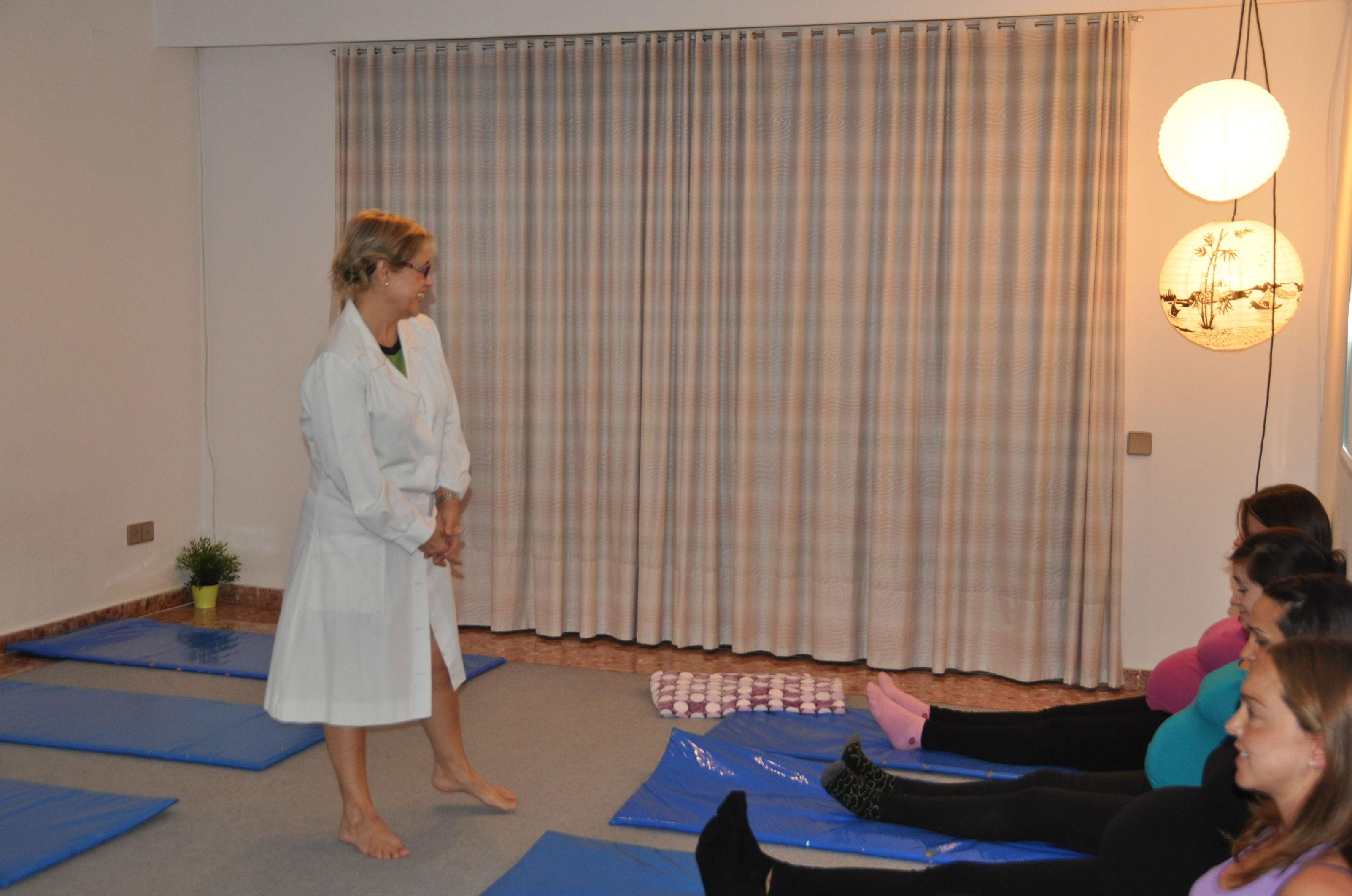 Clases de relajación y preparación al parto en Valencia