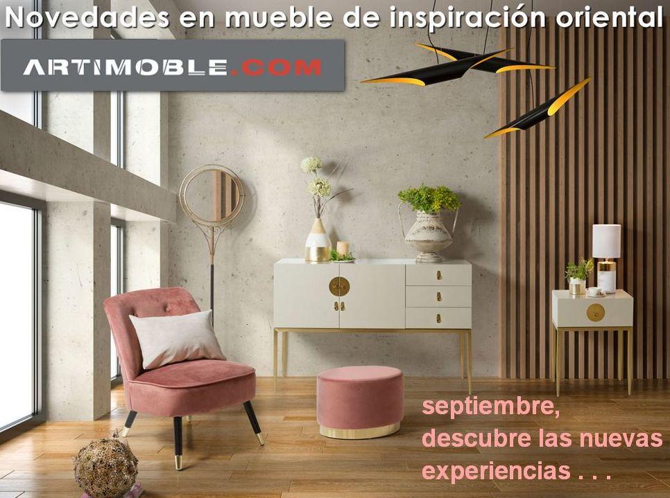 Muebles de inspiración oriental