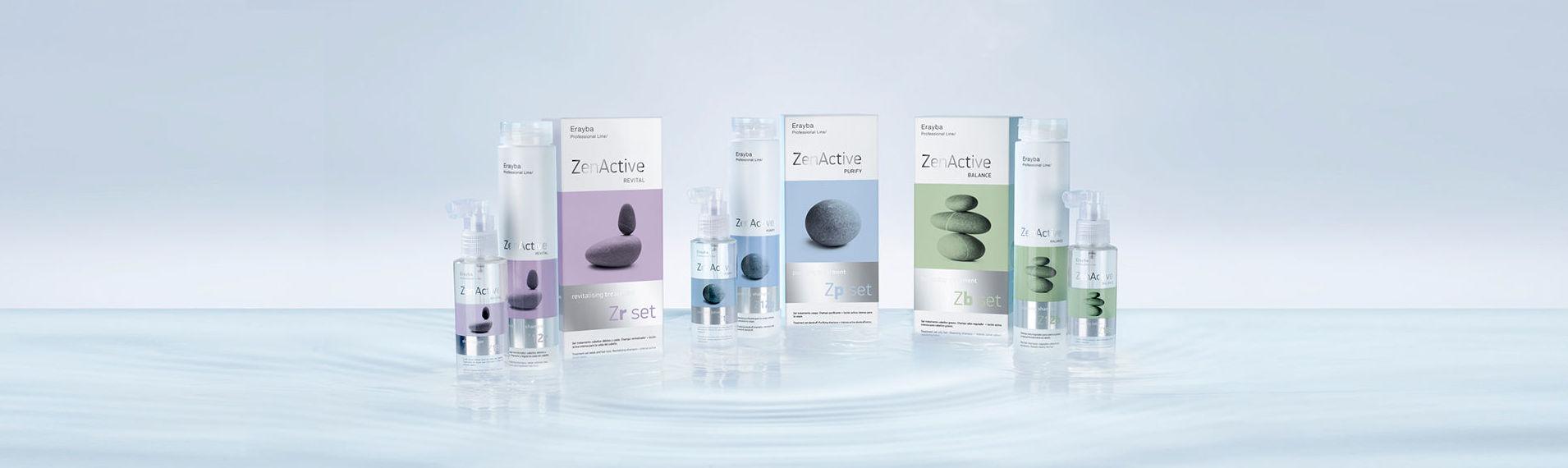En Otoño Zen Active Hair Therapy Con tres lineas terapéuticas para los problemas de tu cabello