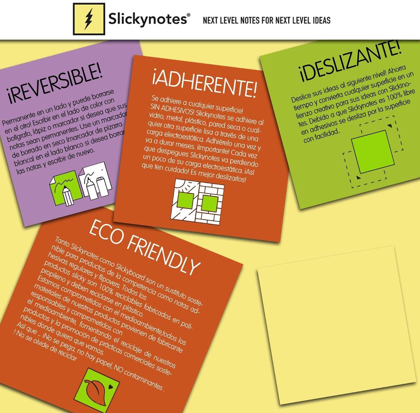 Slickynotes: Productos y Servicios de Rosan