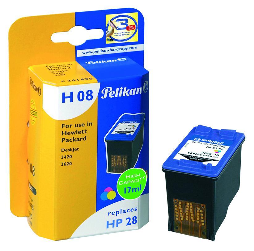 Cartucho HP28 PELIKAN Gr.997C