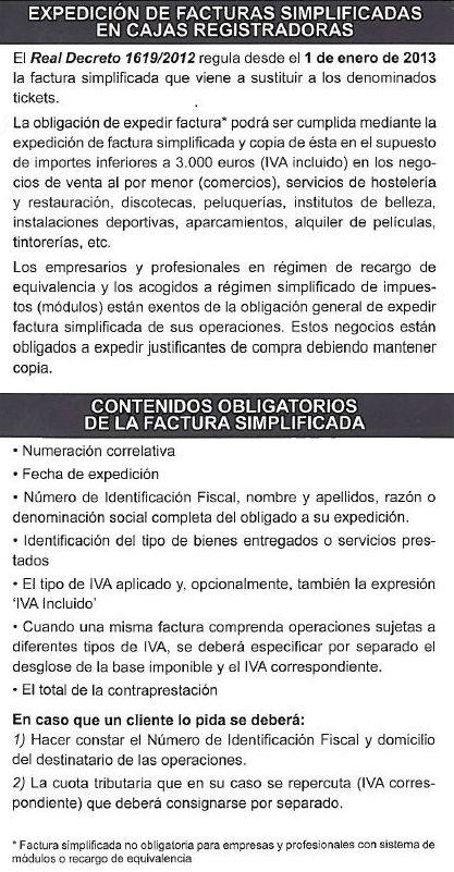LEY FACTURA SIMPLIFICADA