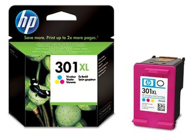 Cartucho HP 301XL Color - CH564EE