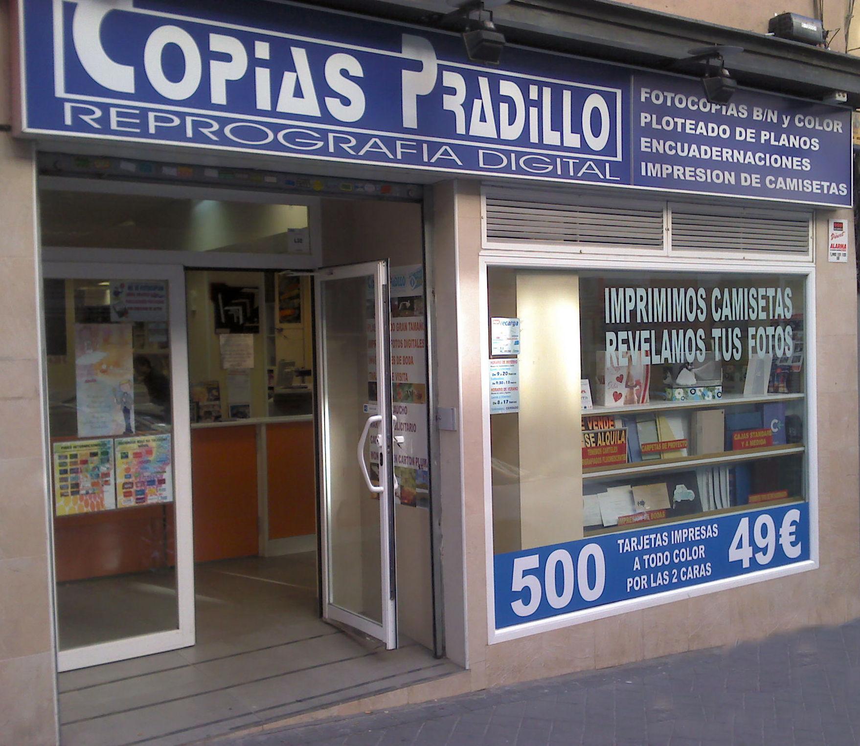 La mejor calidad y servicio: Productos y servicios de Copias Pradillo