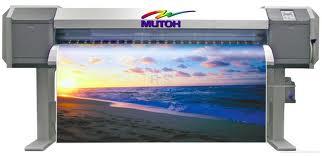 Con nuestra mutoh ecosolvente podemos imprimir hasta un ancho de 150 cms por el largo que quiera y con la garantia de que ni el sol ni el agua podran con su impresion