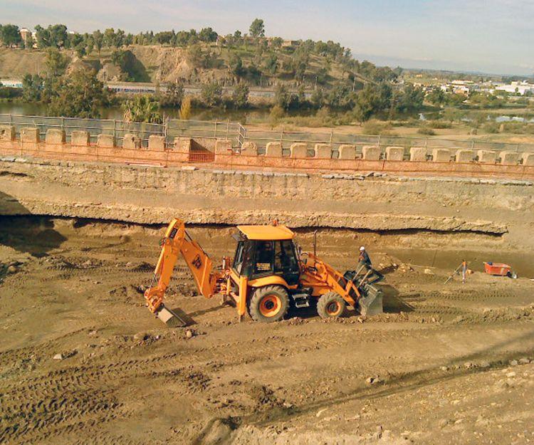 Excavaciones de vaciado en Badajoz
