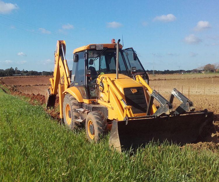 Trabajos de excavaciones en Badajoz