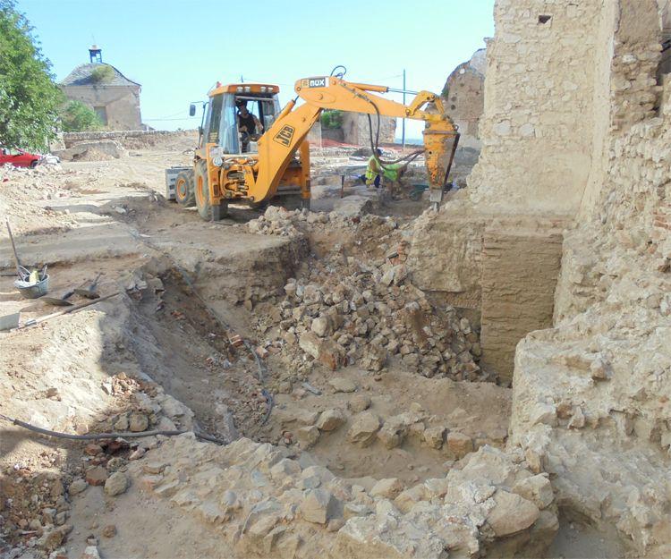 Excavaciones en Badajoz