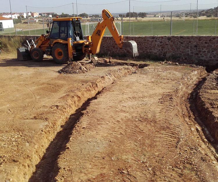 Empresa de excavaciones con años de experiencia