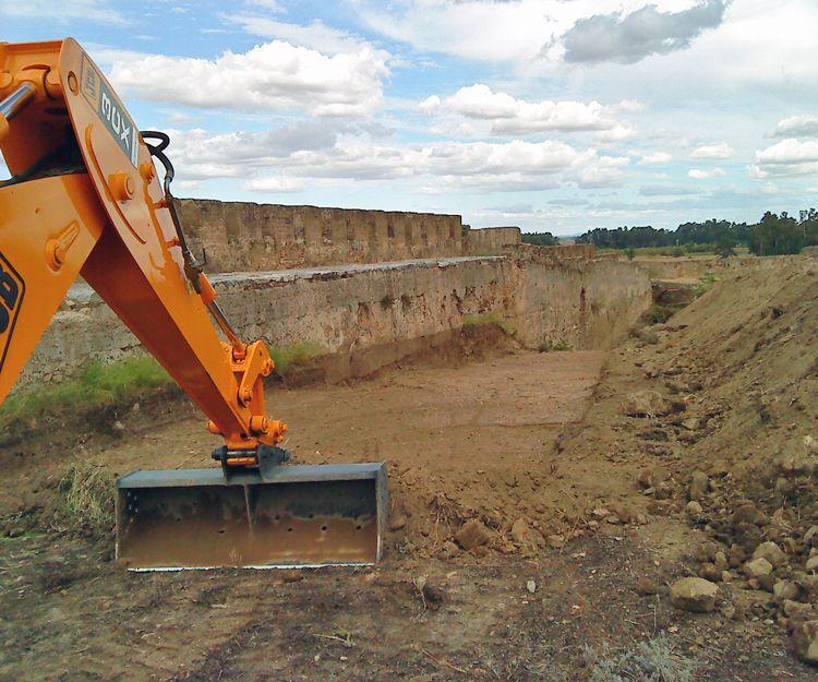 Excavación de cimentaciones