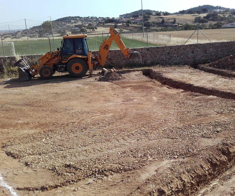 Movimientos de tierra en Badajoz