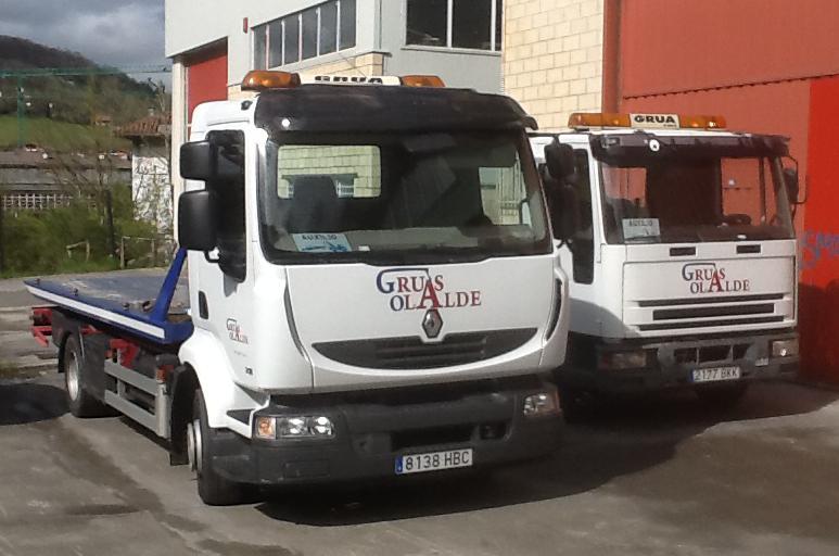 Foto 19 de Grúas para vehículos en Oiartzun | Grúas Olalde