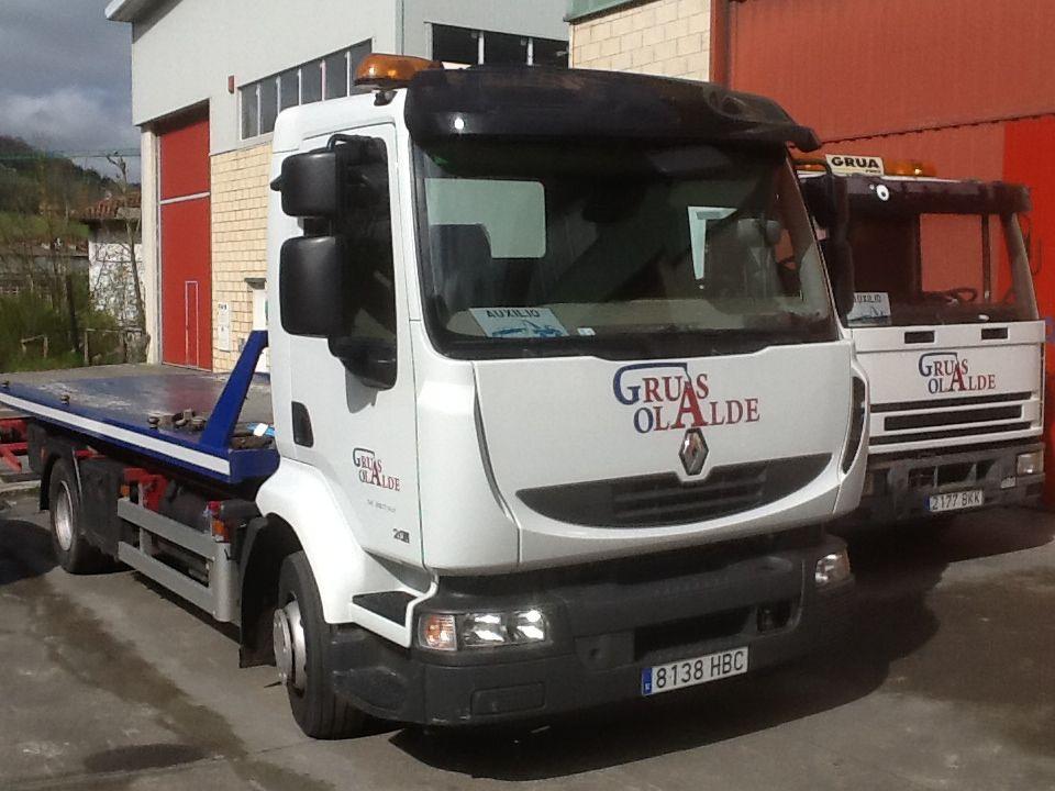 Foto 17 de Grúas para vehículos en Oiartzun | Grúas Olalde