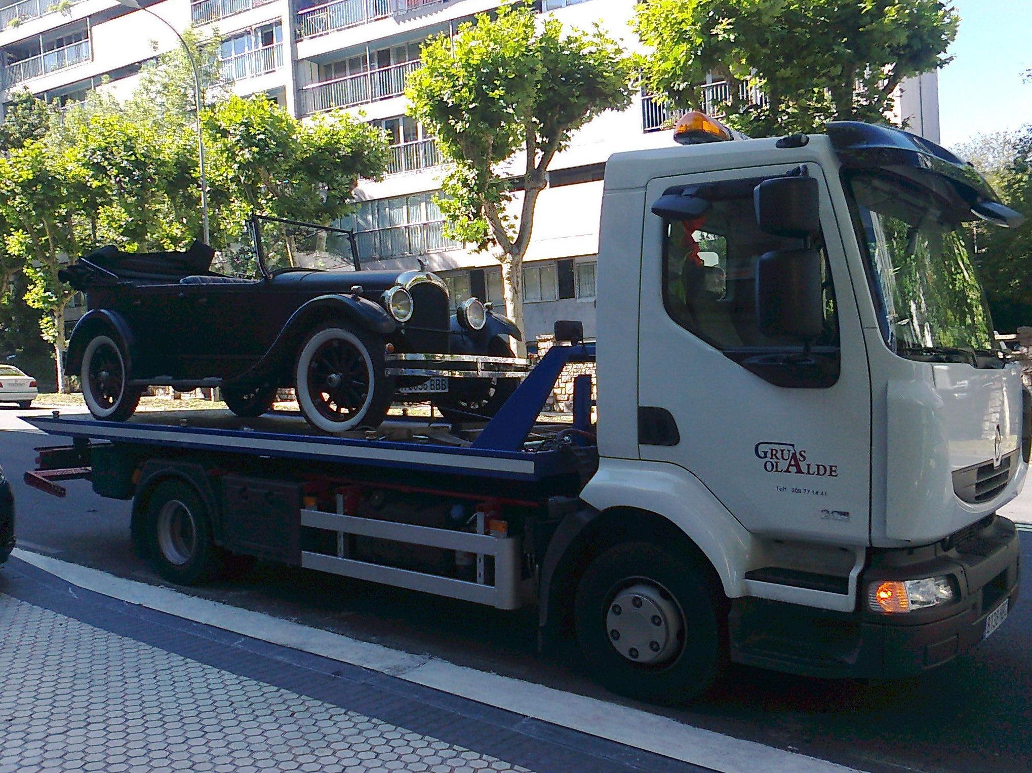 Foto 13 de Grúas para vehículos en Oiartzun | Grúas Olalde