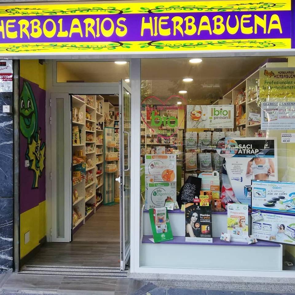 Herbolario y dietética en Aluche, Madrid