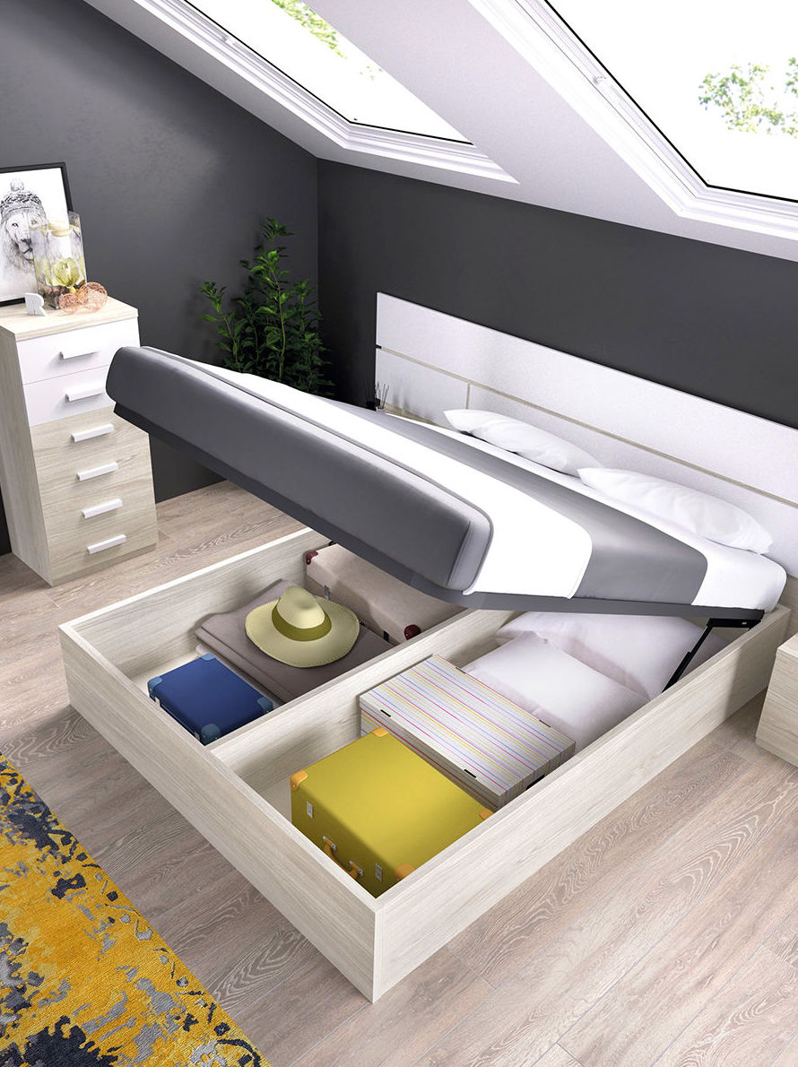 Solución cama abatible vertical