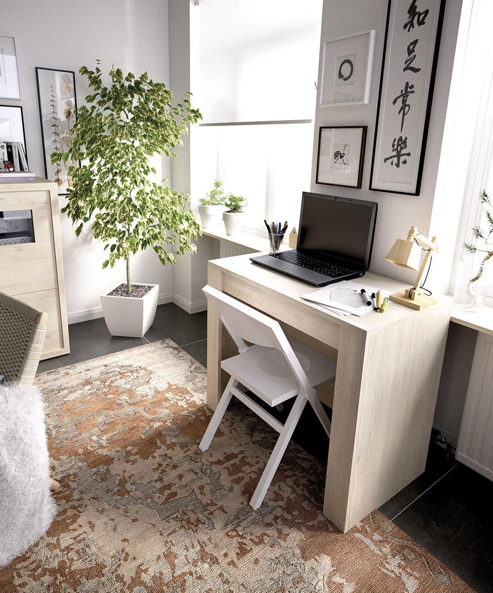 Mesa extensible como mesa de estudio