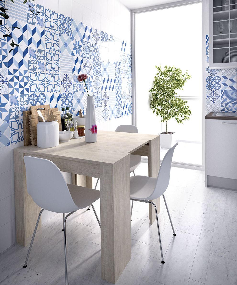 Mesa extensible como mesita de cocina