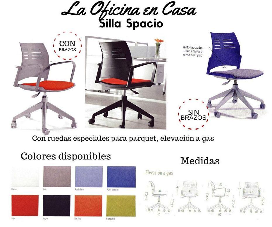 Silla spacio cat logo de glk altzariak for Catalogo de sillas
