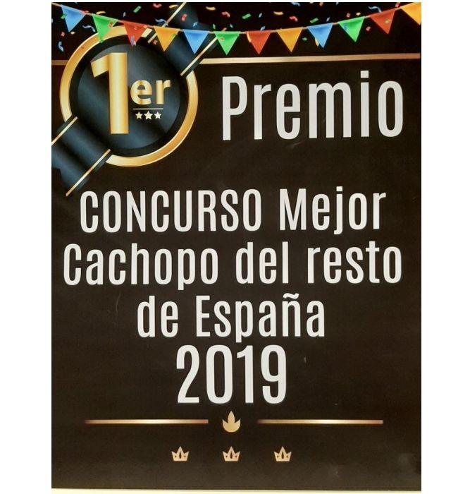 ¡Somos ganadores del 1er Premio al Mejor Cachopo del Resto de España 2019!