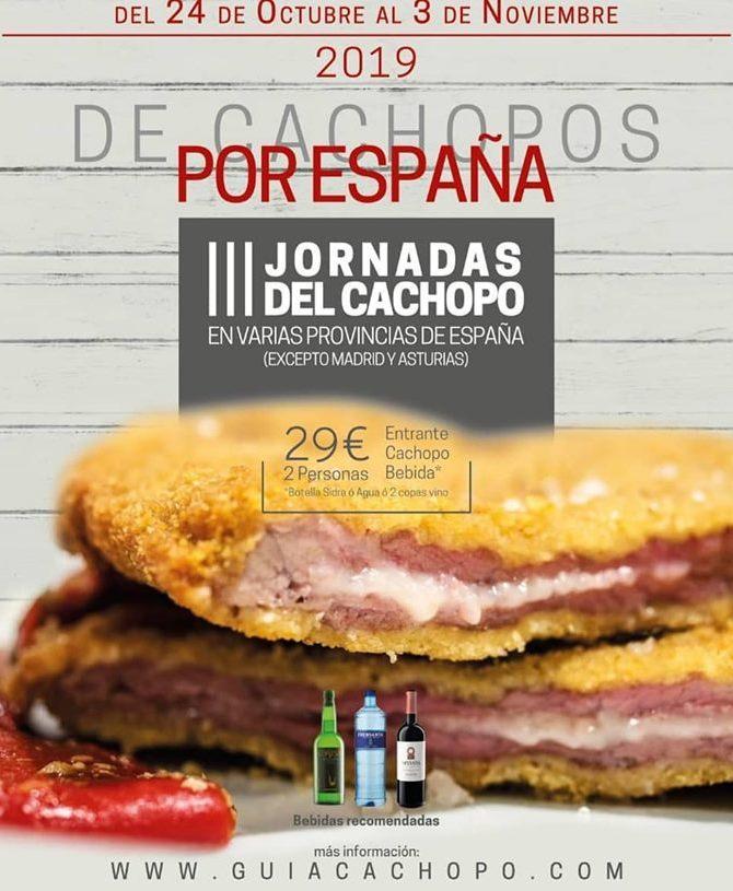 III Jornadas del cachopo 2019.  Cachopos por España