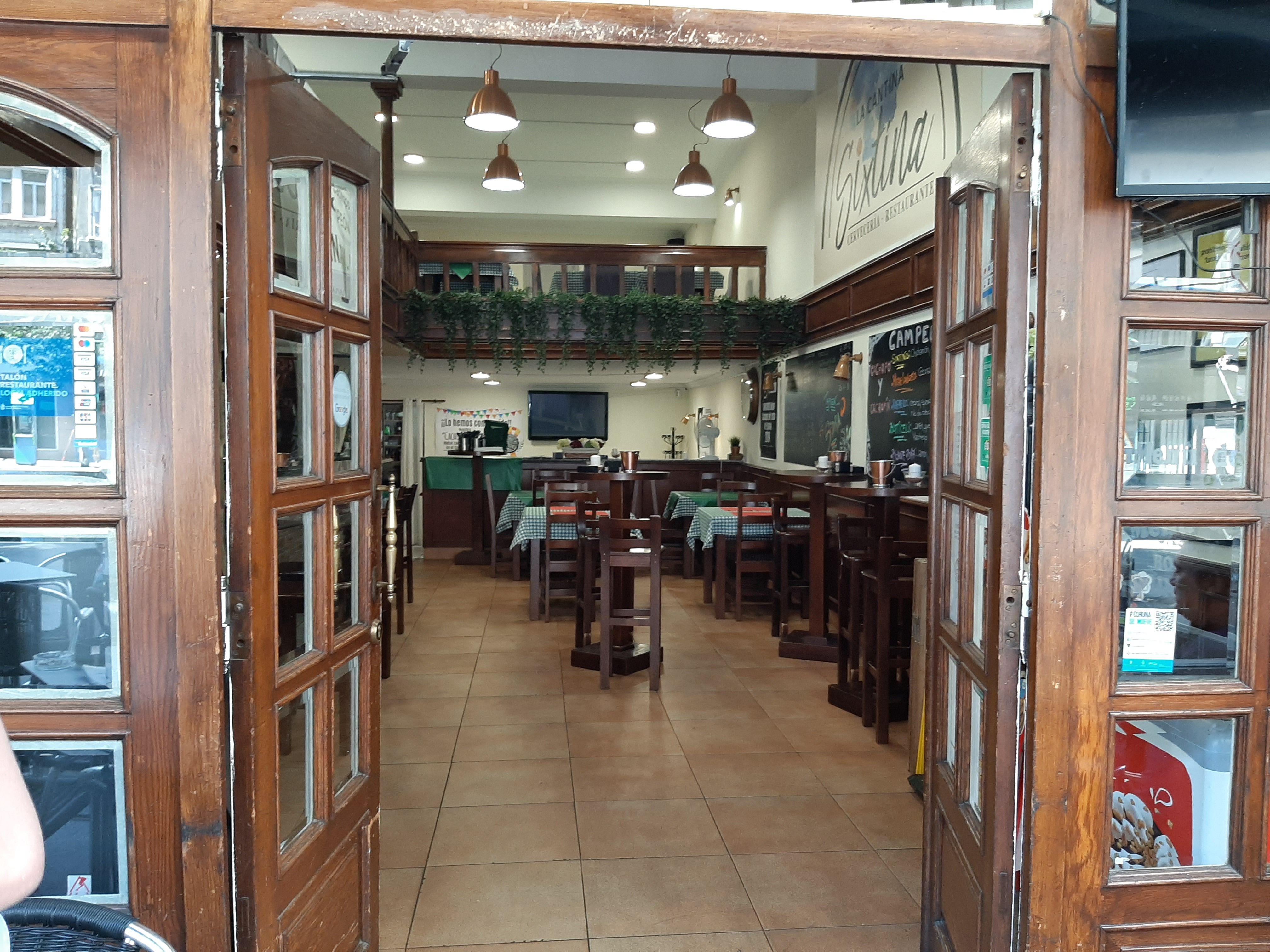 La Cantina Sixtina (A Coruña), un lugar agradable para tus comidas en la mejor compañía
