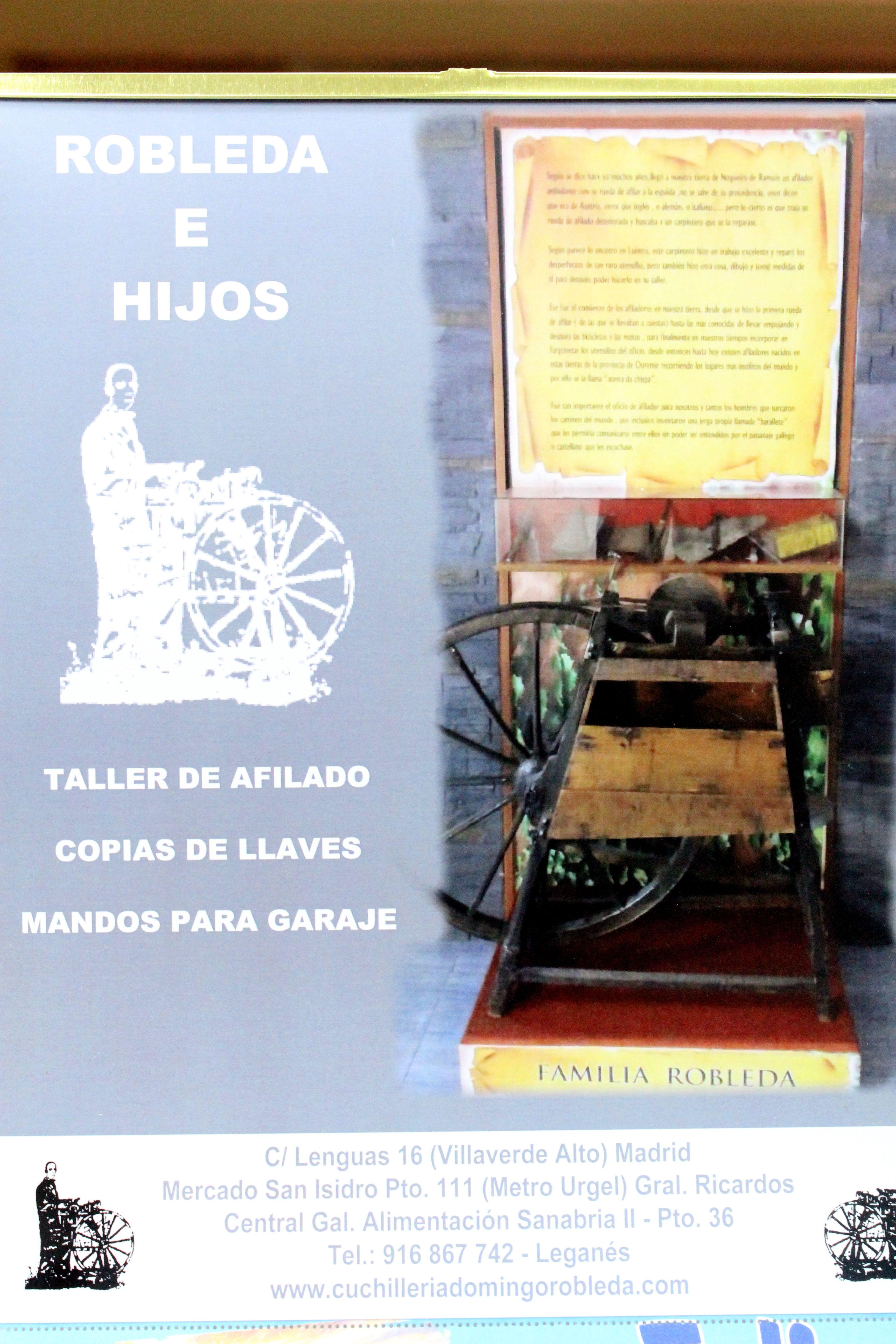 Foto 1 de Cuchillería en Leganés | Robleda E Hijos