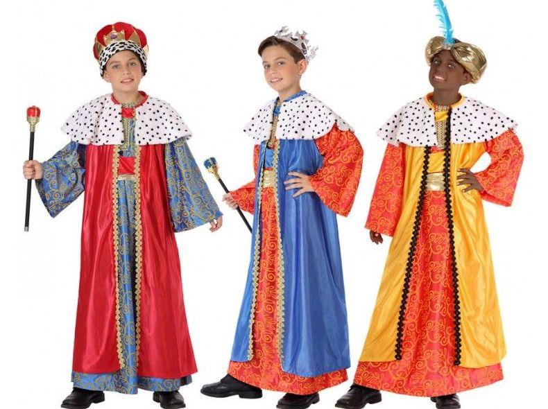 Disfraces Reyes Magos infantil