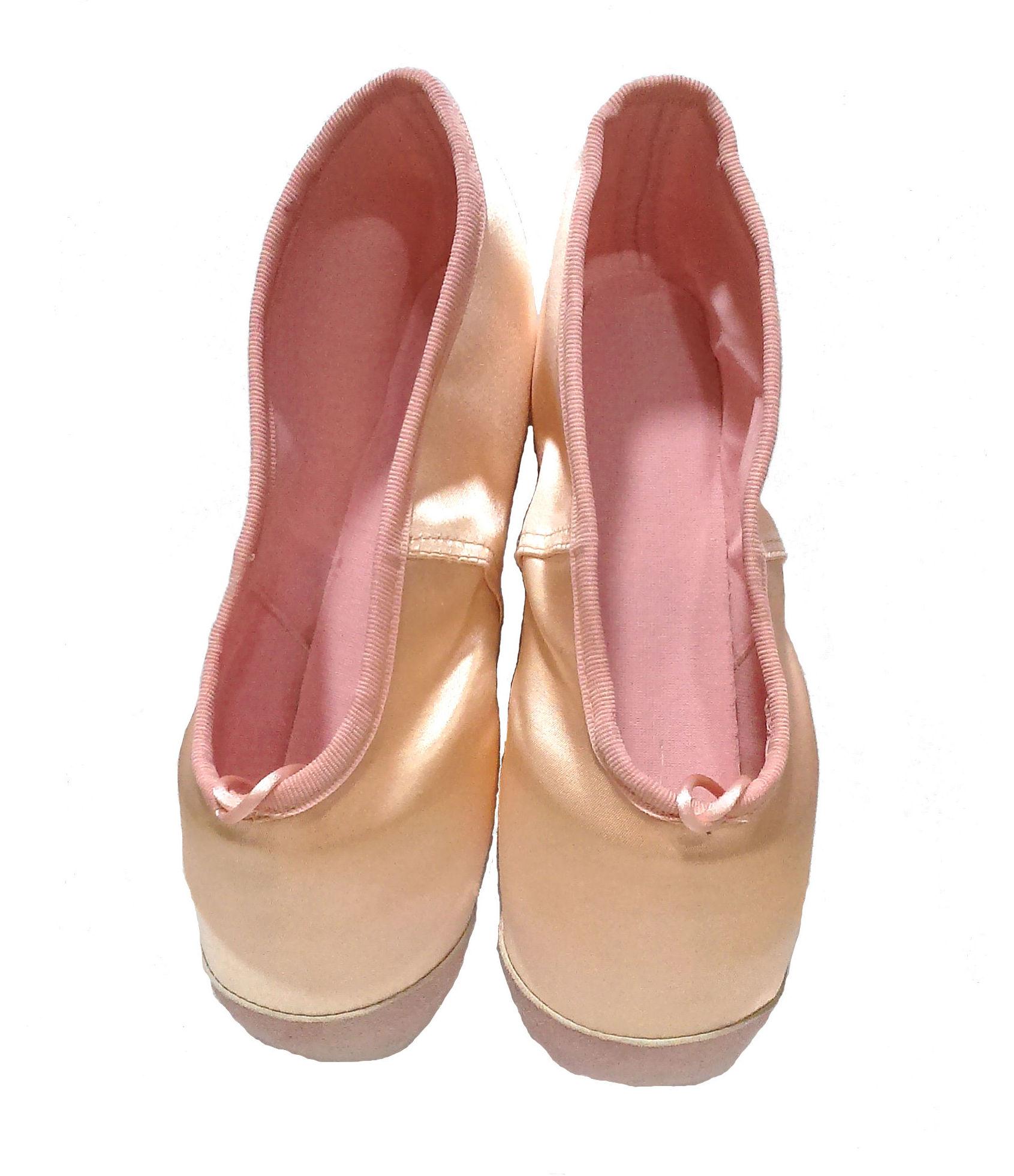 Puntas de ballet con refuerzo delantero