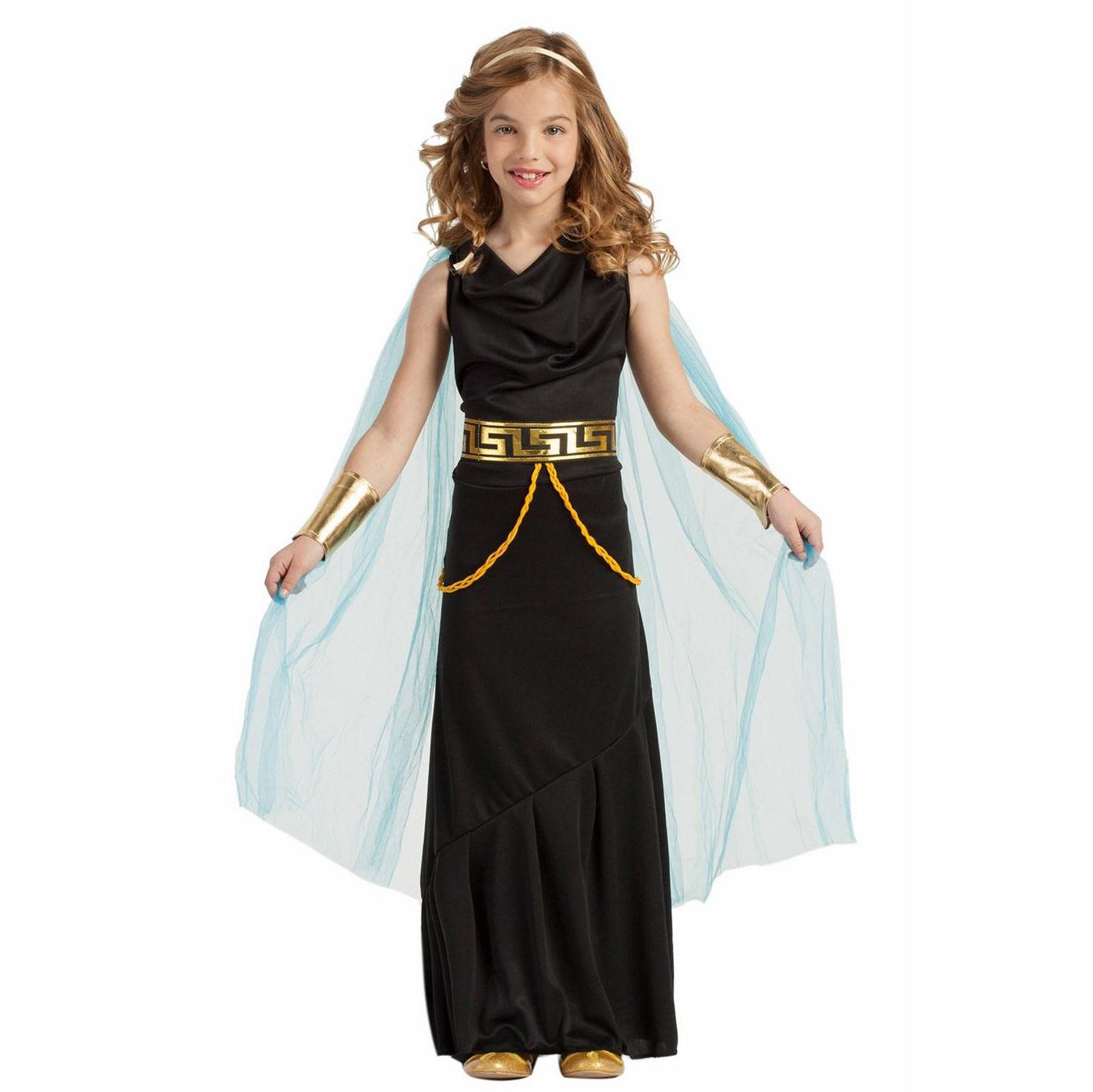 Disfraz griega-romana negro