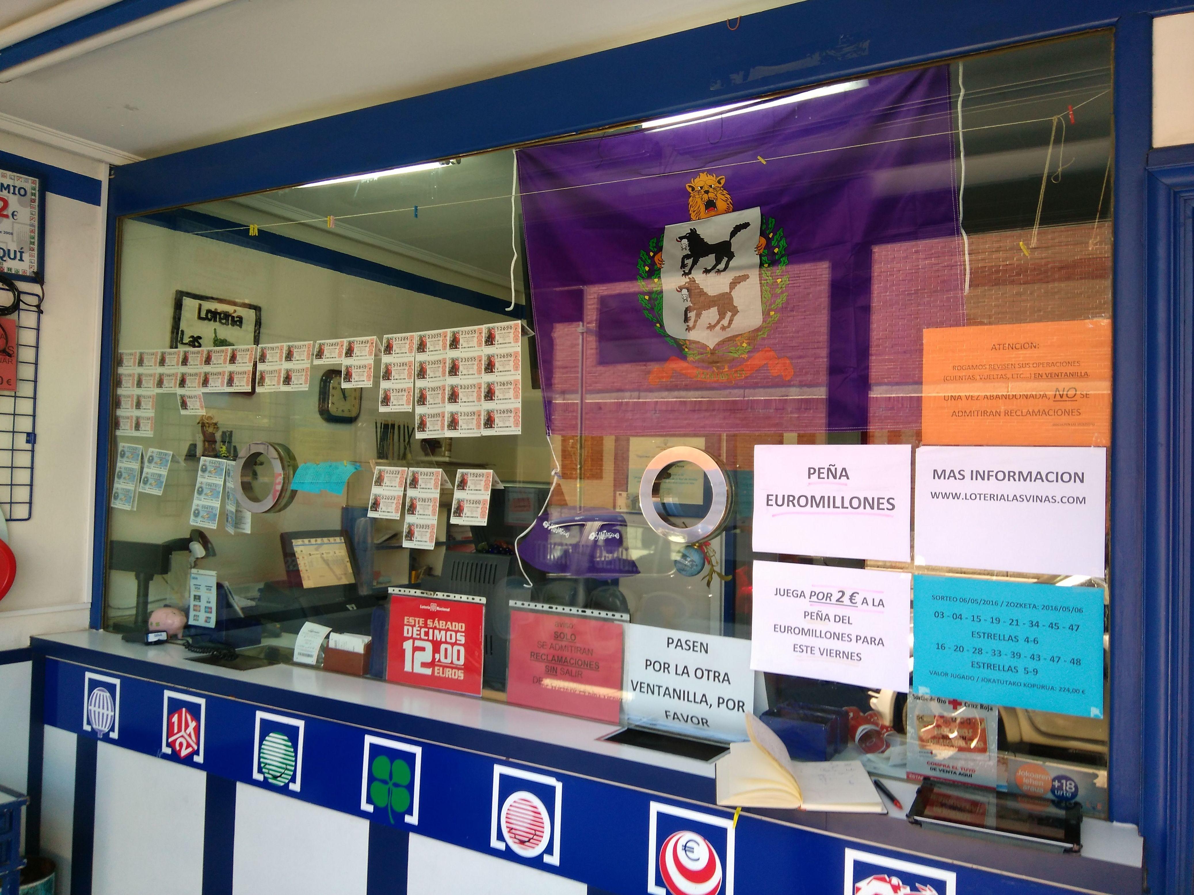 Administración de lotería en Santurtzi