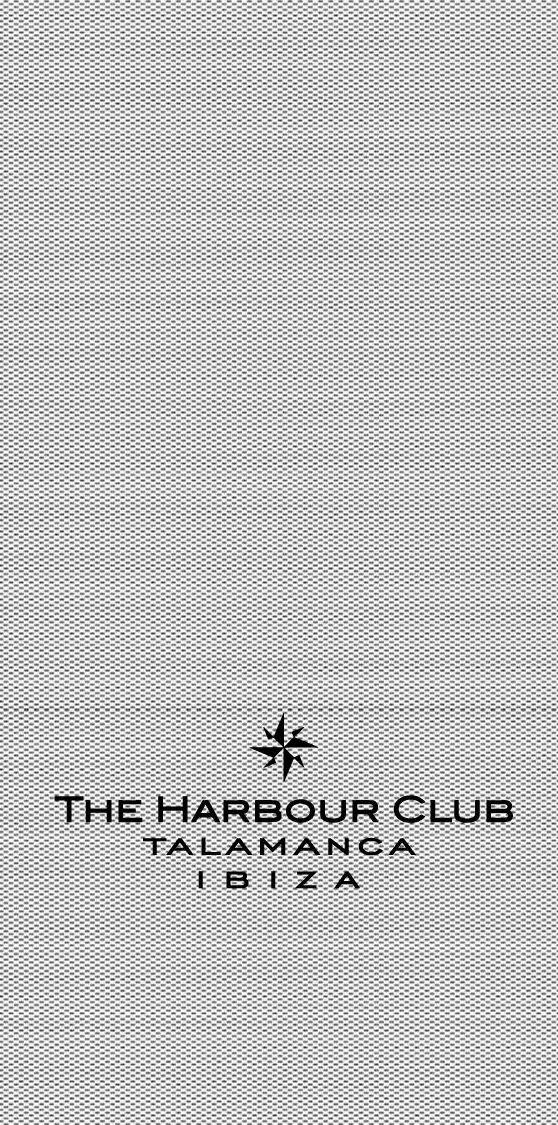 Servilleta jeans impresión The Harbour Club (Mapelor)