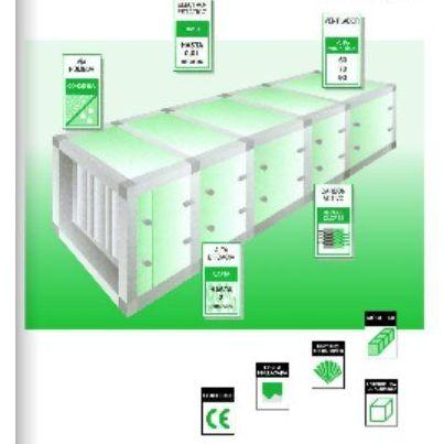 Depuradores de aire (etapas ensamblades): CATÁLOGO de Filair