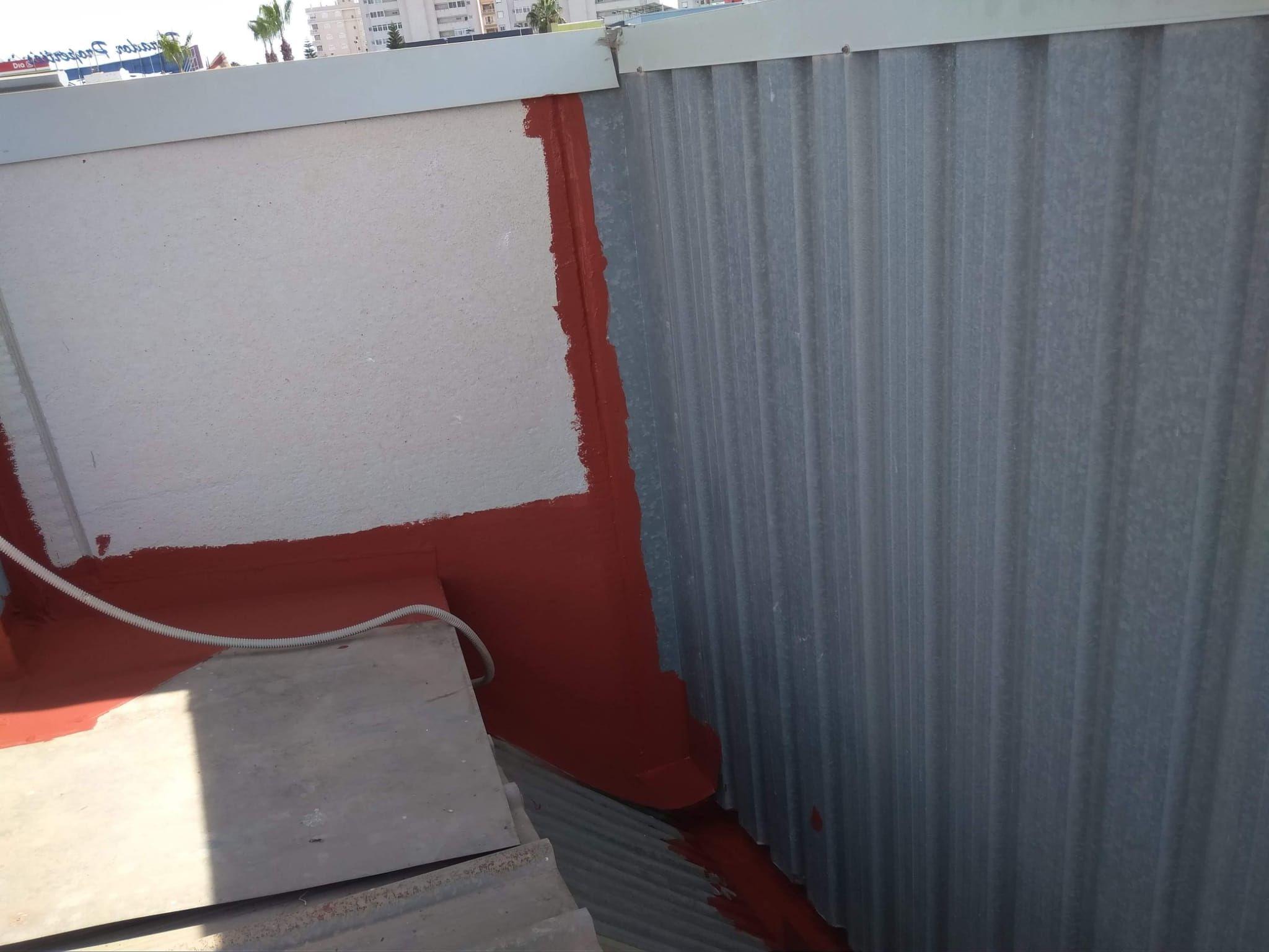 Impermeabilización de cubiertas Cartagena