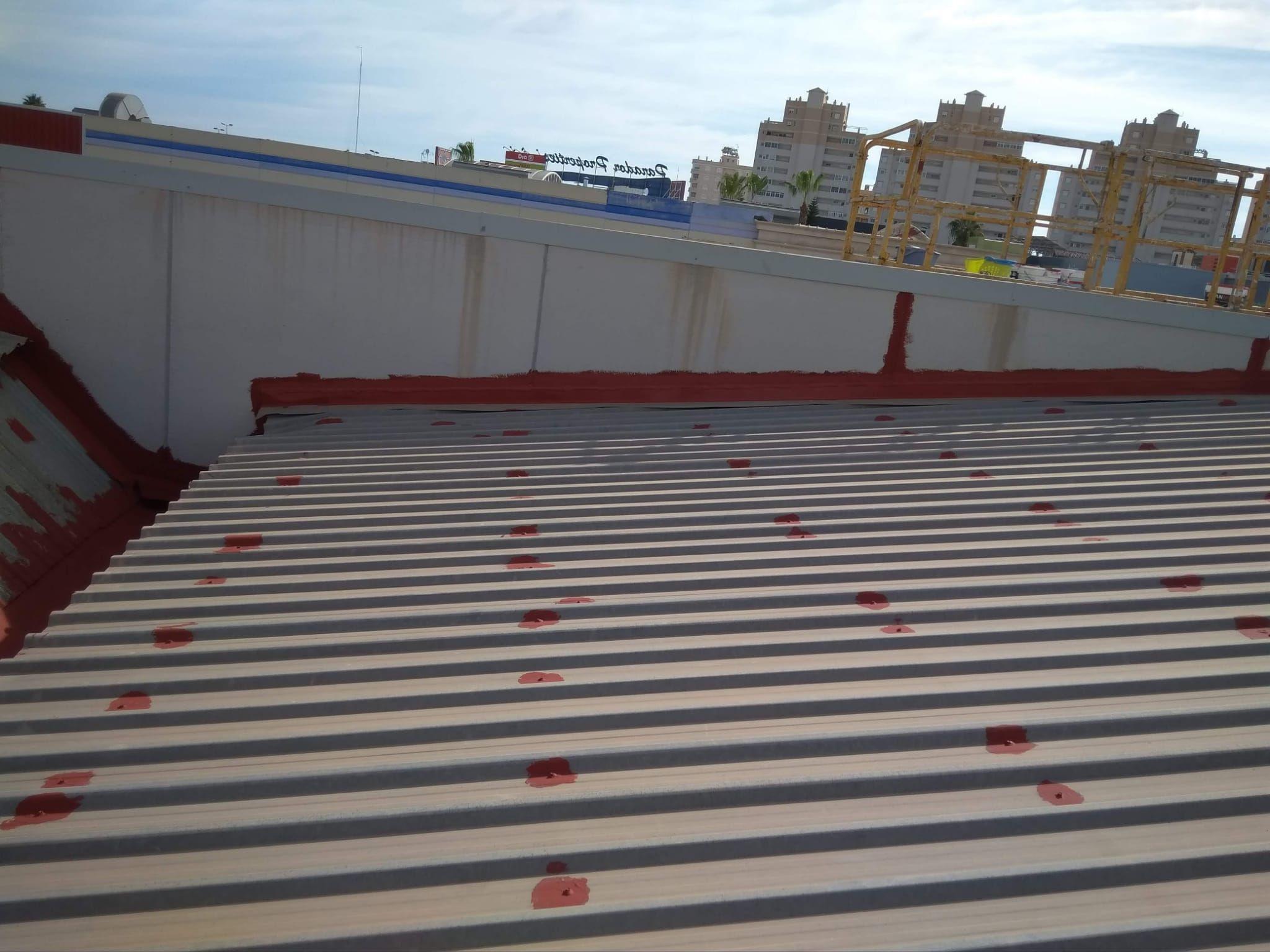 reparación de tejados Murcia