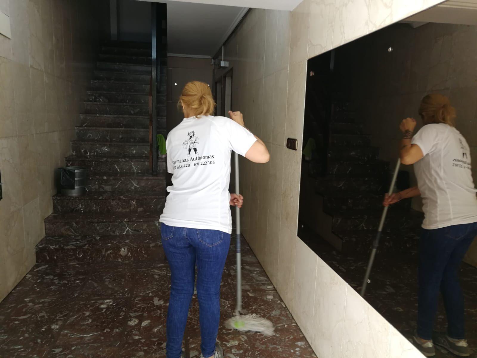 Limpiar portales Donosti