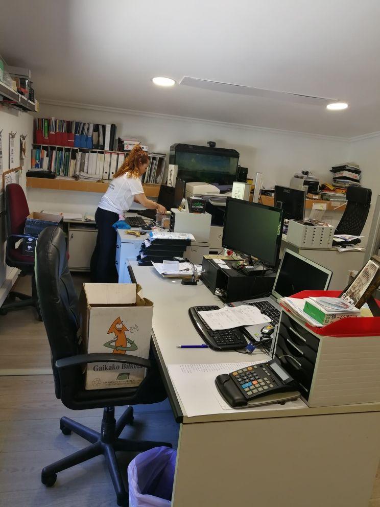 Limpiar oficinas Donosti