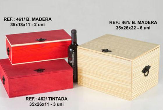 Cajas de madera para vinos