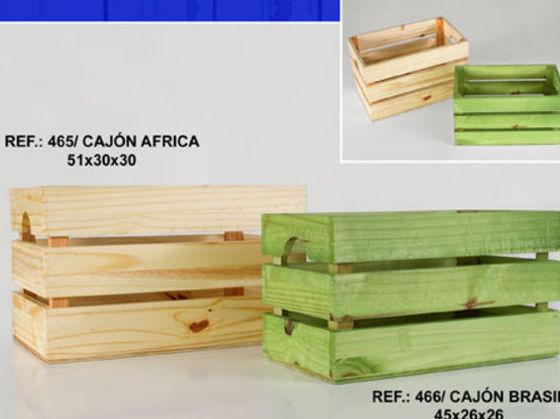 Cajones de  madera. Servicio al por mayor