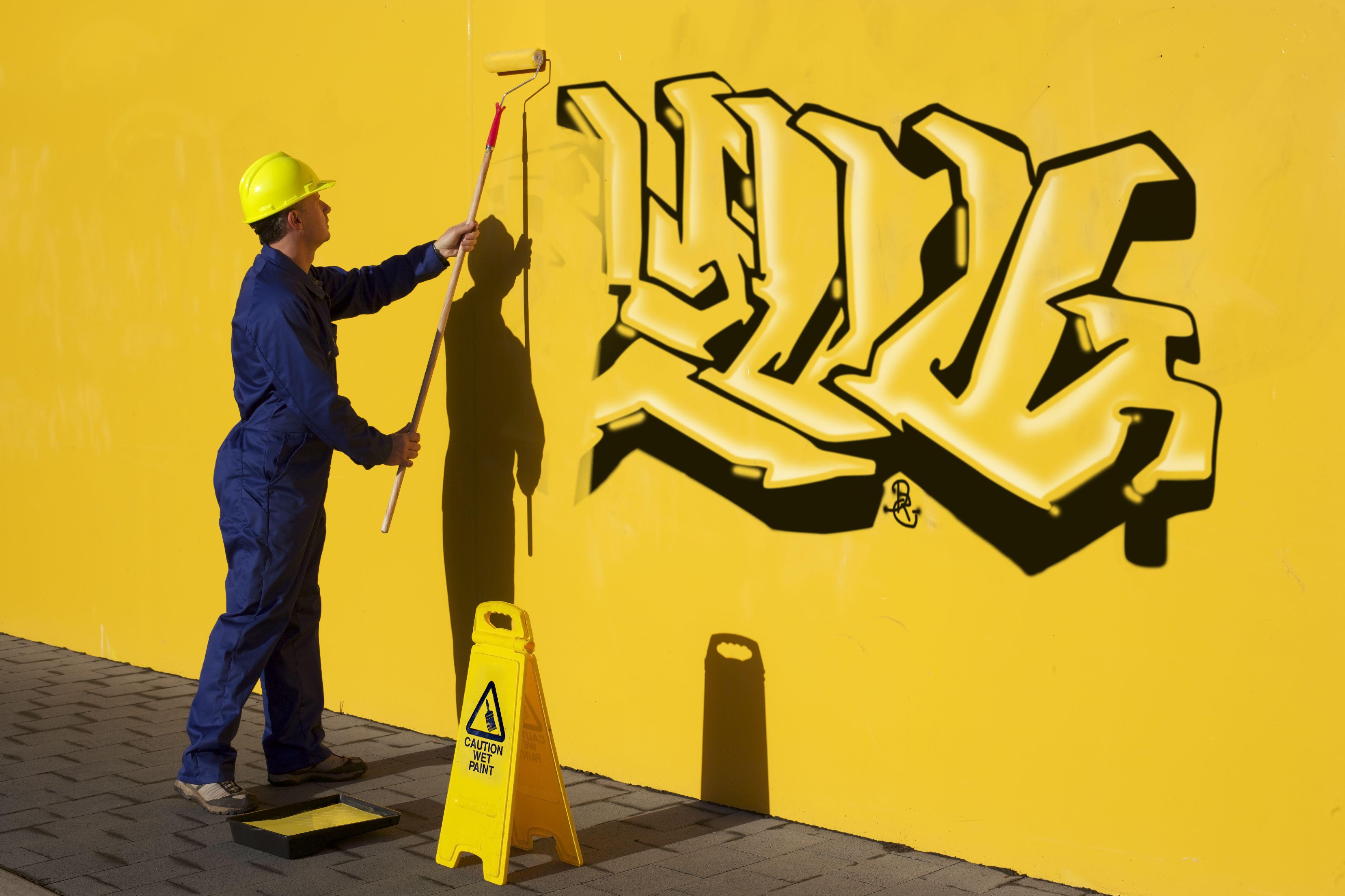 Quitamos los grafitis
