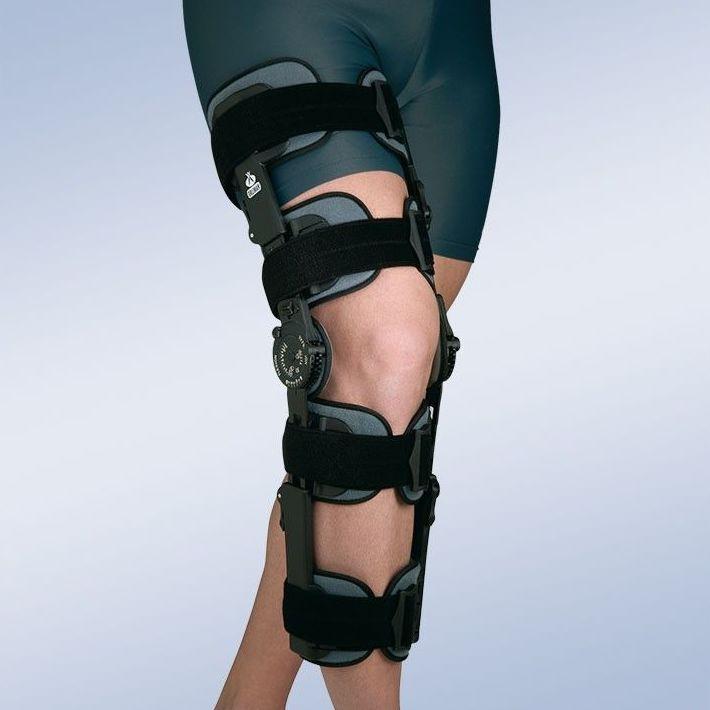 Ortesis de rodilla regulable con bloqueo: Productos y servicios de Ortopedia Delgado, S. L.