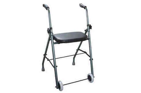 Andador de hierro con asiento: Productos y servicios de Ortopedia Delgado, S. L.