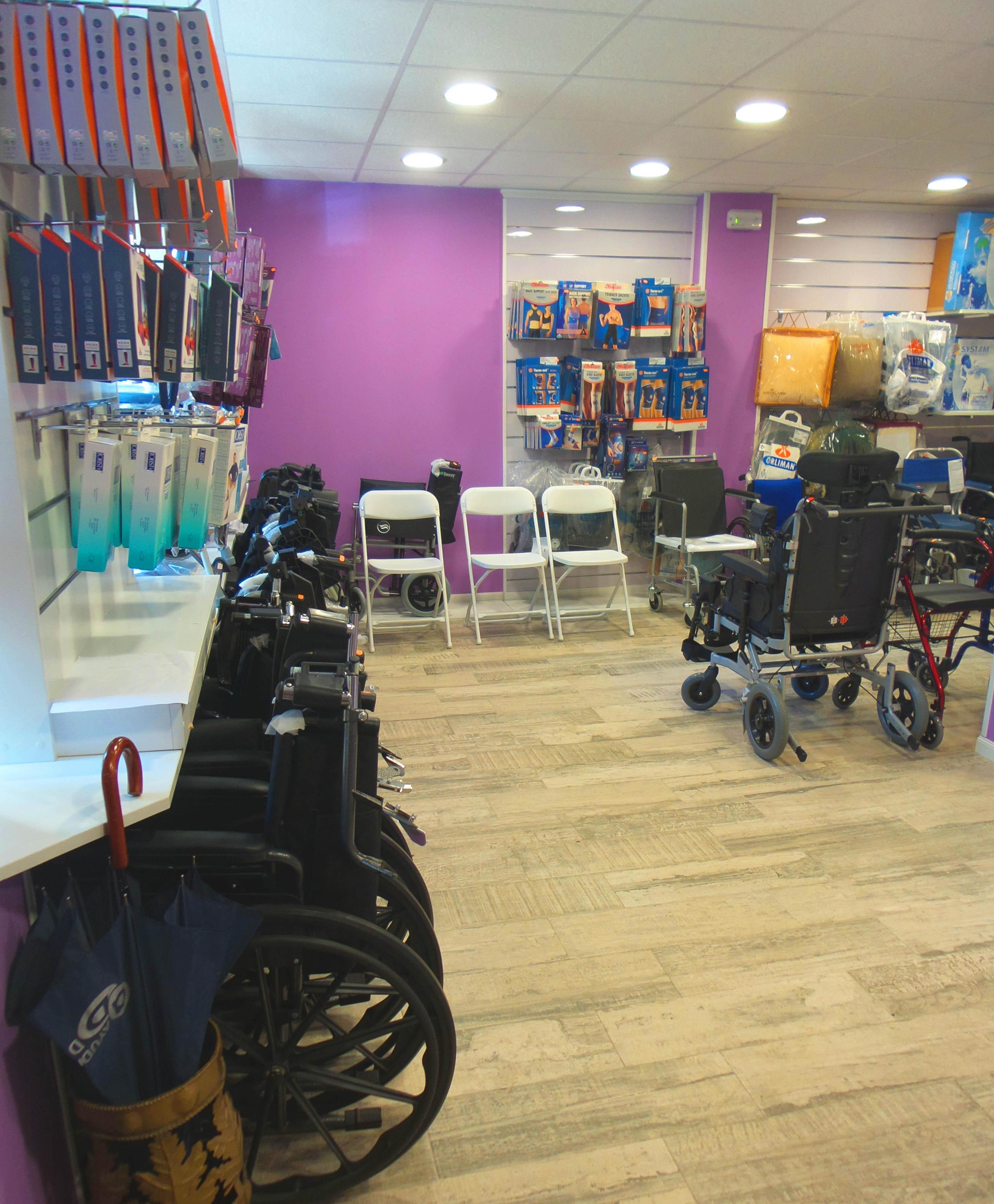 Alquiler y venta de sillas de ruedas, eléctricas y manuales
