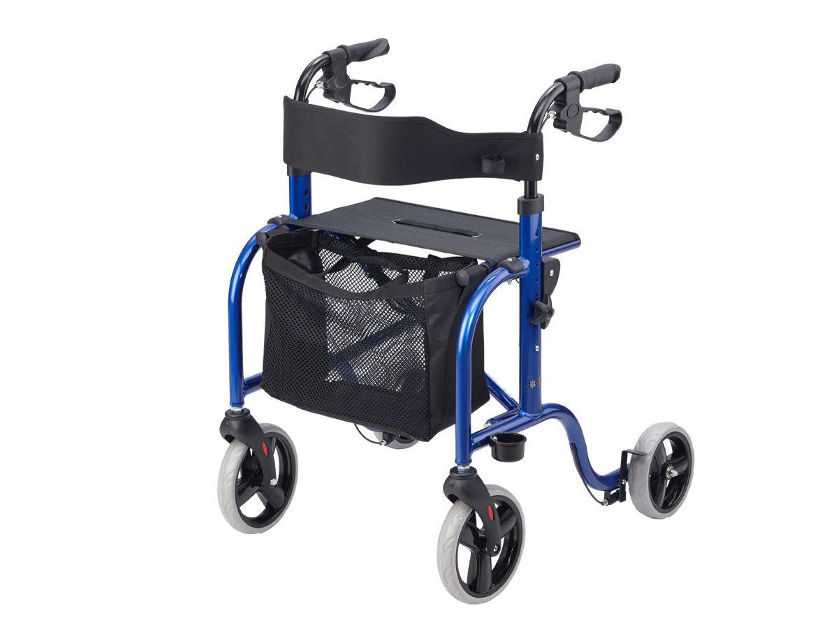 Andador de aluminio de 4 ruedas: Productos y servicios de Ortopedia Delgado, S. L.