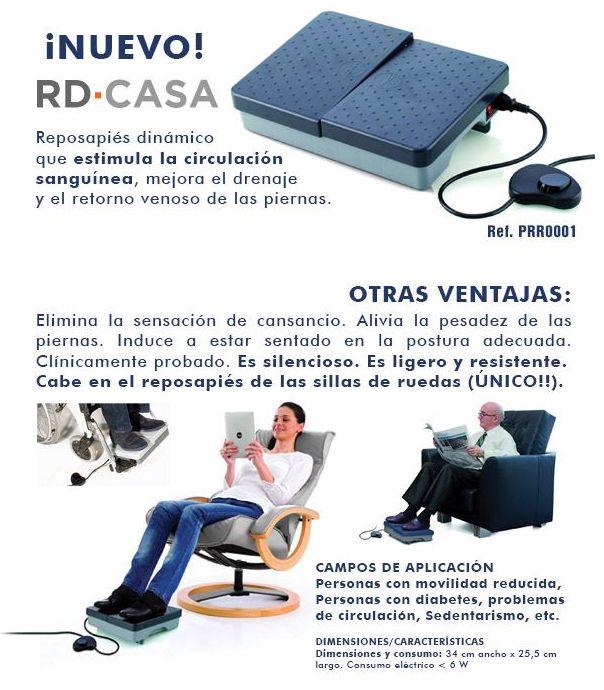 Reposapiés Dinámico: Productos y servicios de Ortopedia Delgado, S. L.