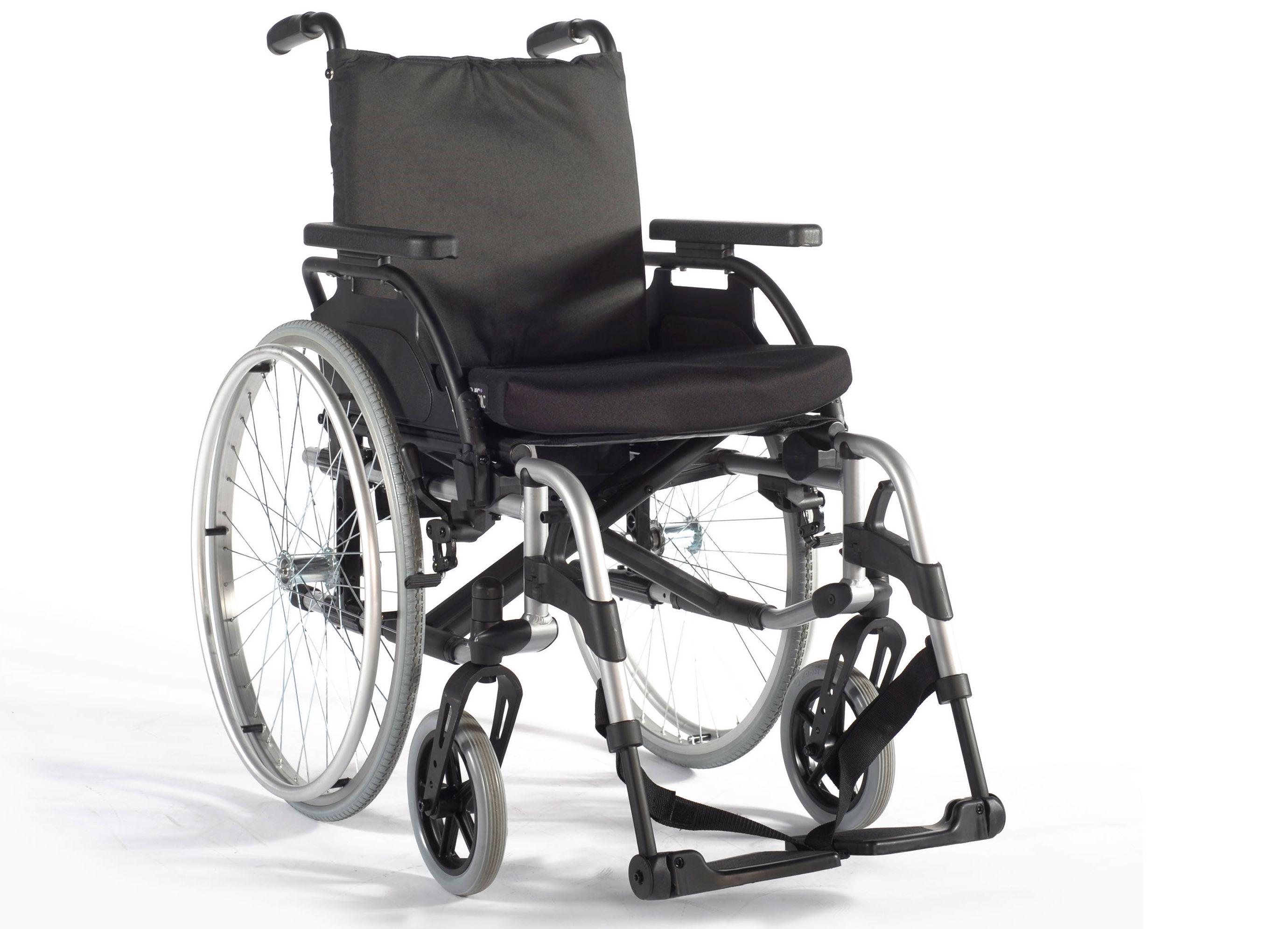 Silla de ruedas manual Basix 2: Productos y servicios de Ortopedia Delgado, S. L.