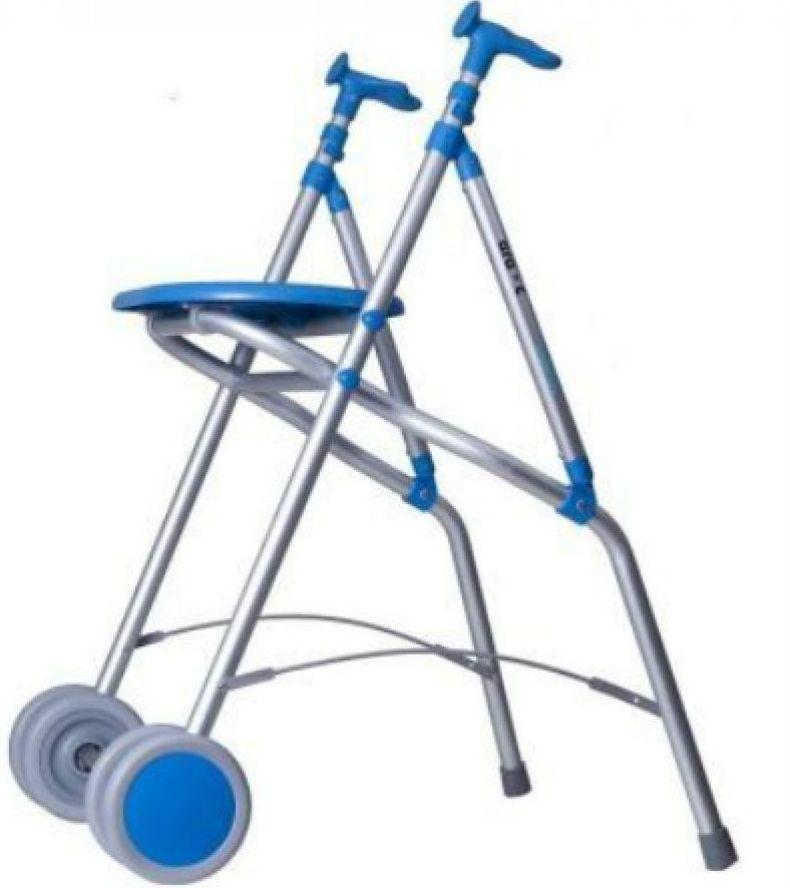 Andador de aluminio con asiento: Productos y servicios de Ortopedia Delgado, S. L.