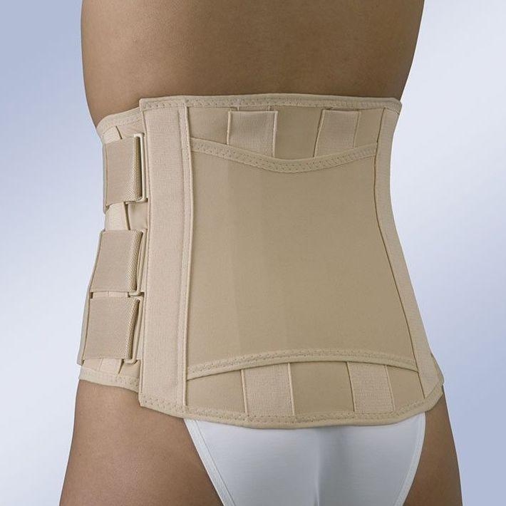 Faja Sacrolumbar, corta semirrígida y cierre velcro: Productos y servicios de Ortopedia Delgado, S. L.